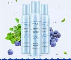 fountain spray supple water spray biru