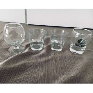 4 Glasses (Different Sets)