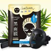 HYALURONAN HYDRATING BLACK MASK 30 gram by bioaqua