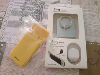 New iRing Ring Phone + Hook + Phone Stand