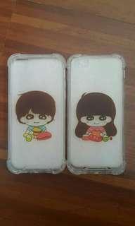 Iphone 5c couple case