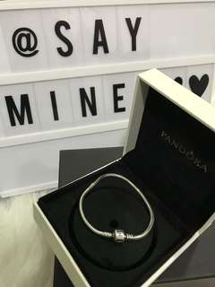 Authentic Pandora Set, bracelet & charms