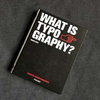 What Is Typography by David Jury