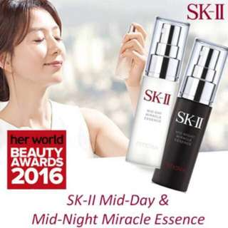 Skii mid day / mid night