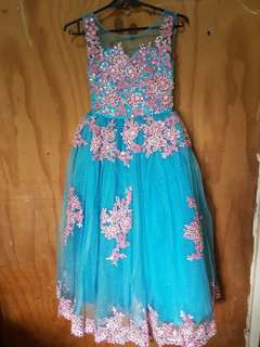KIDS BLUE GOWN