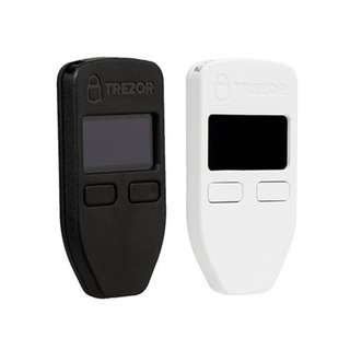 [Authorized Distributor] Trezor Bitcoin Wallet - Black/White. Get 3 or more for discounts!