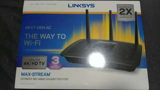 Brand New Linksys Router ea7500 ac1900
