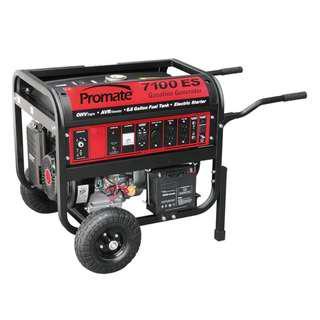 Promate PM7100 ES Gasoline Generator