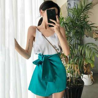 Singlet + Ribbon Skirt Sets