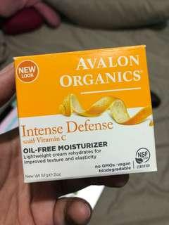 Avalon Organics OIL FREE Moisturizer