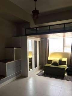 Studio condo for rent in ortigas near megamall tektite and meralco ave
