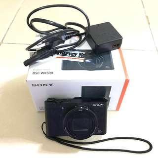 Sony CyberShot DSC-WX500 Flip Camera