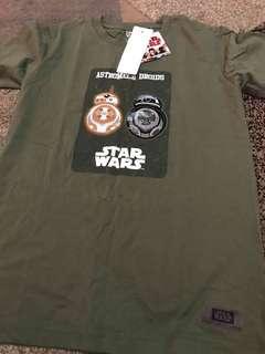 Tshirt Star Wars Uniqlo Size 130