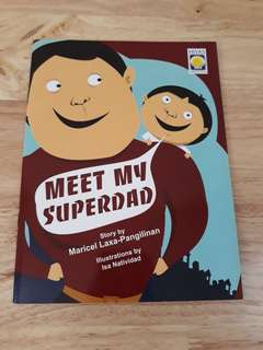 Meet My Superdad book