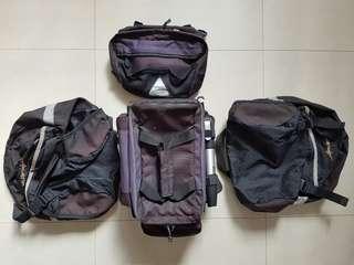 Bicycle Bags Combo