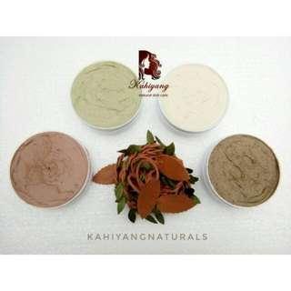 Masker organik Kahiyang naturals