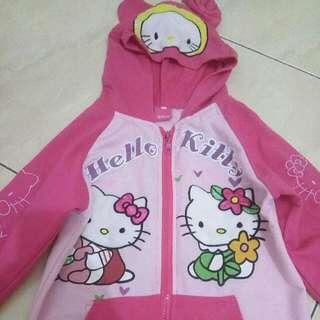 Jaket pink Hello kitty