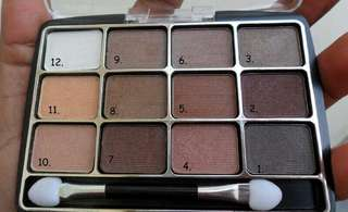 L.A. Colors Eyeshadow Palette - Trendy