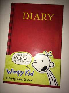 Diary of a Wimpy Kid Journal and Moana book of life