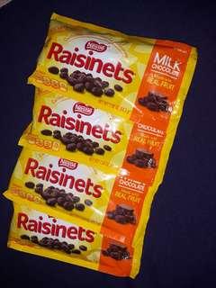 Raisinets 4 for 105.00
