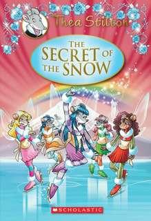 (BN) Thea Stilton hardcover #3 The Secret of the Snow