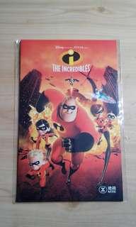 The Incredibles 地鐵紀念車票