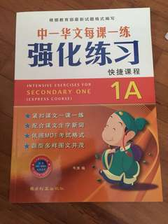 Sec 1 Chinese assessment book
