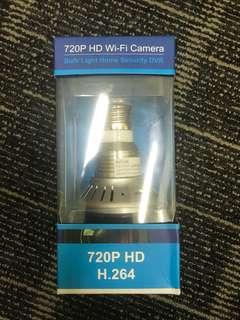 #15 720P HD Wifi Camera bulb light home Security DVR