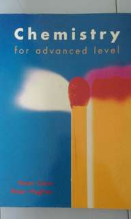 Chemistry for advanced level/ A level chemistry