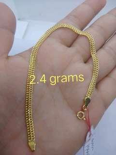 PAWNABLE 18k Saudi Gold BRACELET