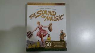 The Sound of Music 50th Anniversary 5 Disc Edition (3 BLURAYS, 1 DVD, 1 CD)