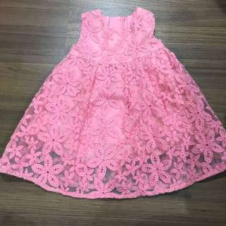 Babygirl lace dress