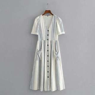 Mara linen dress