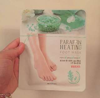 🌸BRANDNEW🌸 Missha Heating Foot Mask
