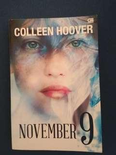 Novel 'November 9'