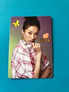 (包郵) 鍾嘉欣 Yes卡 / Linda Yes Card
