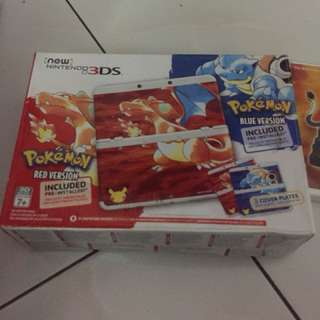 New 3ds 20th Pokemon Annivesary Edition