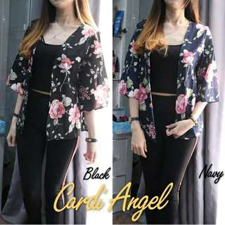 CARDI ANGEL BAHAN KULIT JERUK GOOD QUALITY ALLSIZE FIT TO L REAL PICT😚