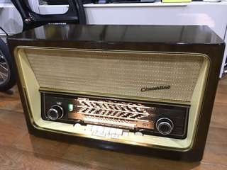 Telefunken Concertino 8 vintage tube radio (1957/58)