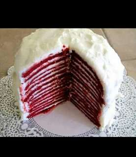 Crepes cake (asli kemang