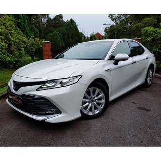 Don't MISS THIS COE!! 2018 New Toyota Camry Hybrid 2.5 G (A)