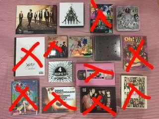[Pre-loved] KPOP ALBUMS (EXO, SHINee, F(x), SNSD, Boyfriend, Beast, Smtown)