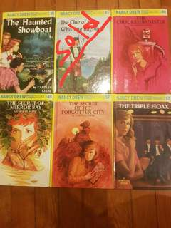 Nancy Drew Hard Cover (Each)
