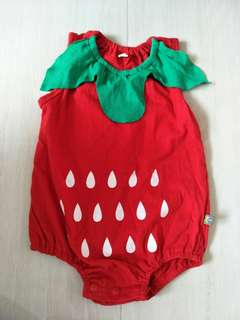 Strawberry romper