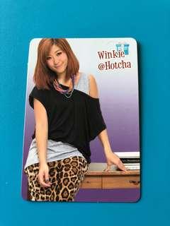 (包郵) Winkie HotCha Yes卡 / Yes Card