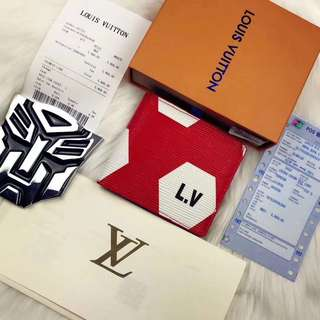 Louis Vuitton 2018 World Cup Small Wallet
