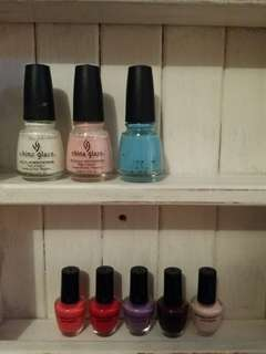 Nail Polish by models prefer formaldehyde free