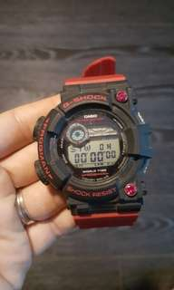 G Shock Frogman GF1000 with Rising Red bnb