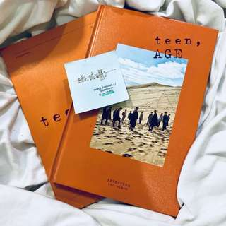 Seventeen- teenage album orange version