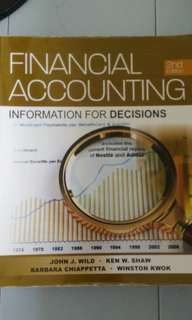 Financial Accounting/ Information for decisions